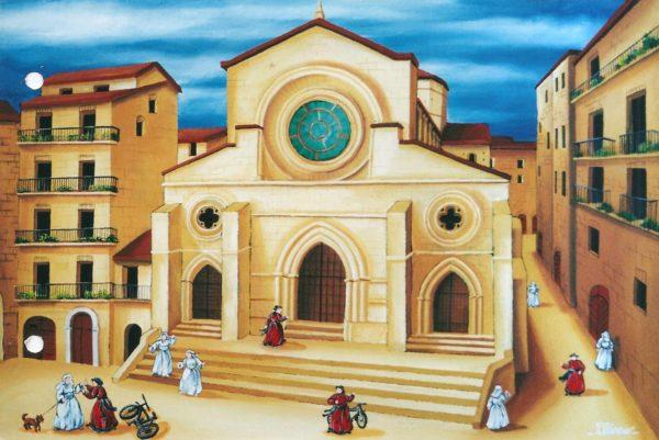 il_Duomo_di_Cosenza_40x60