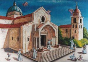 ULISSE IN ARTE ANCONA BASILICA DI S. CIRIACO 40X50