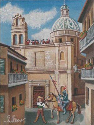 ULISSE IN ARTE CAVALIERE A FRANCAVILLA FONTANA 18X24