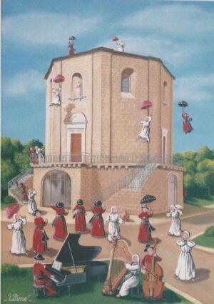 ULISSE IN ARTE FRANCAVILLA FONTANA SULLE ALI DELLA MUSICA 50X70