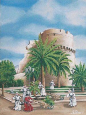 ULISSE IN ARTE REGGIO CALABRIA CASTELLO ARAGONESE 30X40