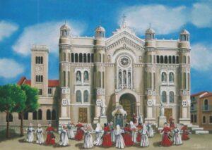 ULISSE IN ARTE REGGIO CALABRIA PROCESSIONE DELLA MADONNA DELLA CONSOLAZIONE 50X70