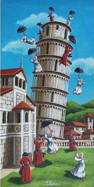 ULISSE IN ARTE PISA PROVE DI LANCIO 30X60