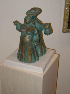scultura in bronzo bacco e venere ulisse in arte