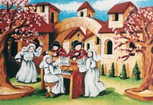 arte quadro pittura serigrafia ulisse concertino