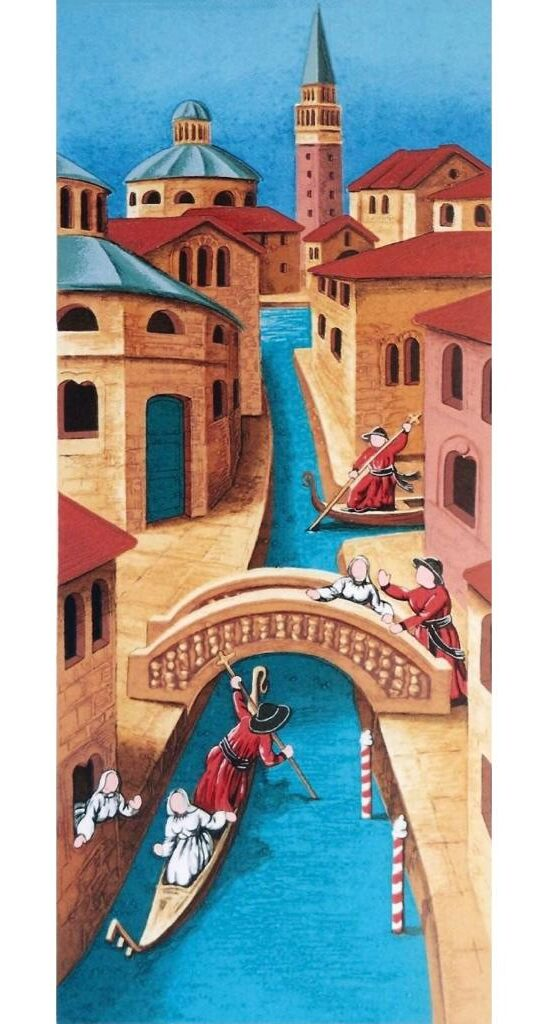 quadro arte pittore ulisse serigrafia venezia