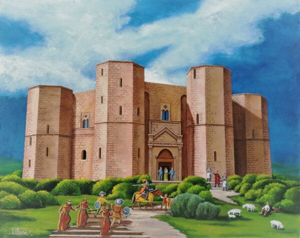 opera quadri dipinto arte ulisse castel del monte